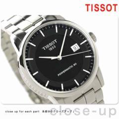 ティソ ラグジュアリー パワーマティック 80 メンズ T086.407.11.051.00 TISSOT 腕時計 ブラック