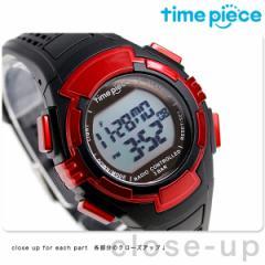 タイムピース 電波ソーラー デュアルパワー メンズ 腕時計 TPW-002RD レッド