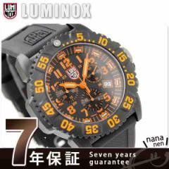 【あす着】ルミノックス LUMINOX ネイビーシールズ カラーマークシリーズ クロノグラフ オレンジ 3089