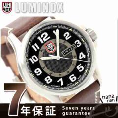【あす着】ルミノックス LUMINOX フィールド スポーツ オートマチック 腕時計 レザーベルト ブラック 1801