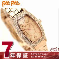 フォリフォリ Folli Follie 腕時計 レディース ジルコニア ピンクゴールド WF5R084BPP