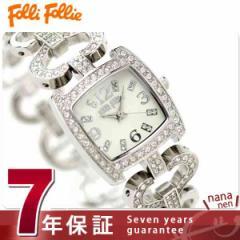 フォリフォリ Folli Follie 腕時計 レディース ジルコニア ホワイト WF5T120BPS