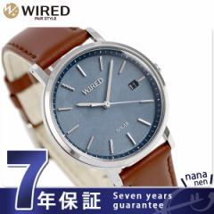 セイコー ワイアード ペアスタイル ソーラー 腕時計 AGAD091 SEIKO WIRED ブルー
