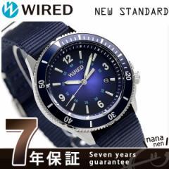 セイコー ワイアード ニュースタンダード メンズ 腕時計 AGAJ404 SEIKO ブルーグラデーション