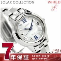 セイコー ワイアード エフ ソーラー レディース 腕時計 AGED078 SEIKO WIRED f シルバー