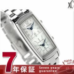 【あす着】【おまけ付き♪】シチズン クロスシー ソーラー エコダブルフェイス EW4000-55A CITIZEN xC 腕時計 ホワイト