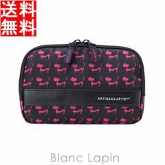 アルティザン&アーティスト スロープシェイプ・ポーチ GLT2-110H 恋するジュリエッタ #ブラック [116371]