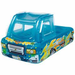 プール 大型 家庭用 大型プール ビニールプール 子供用 家庭用プール トラック 車型 ピックアップトラックプール PDL-P3T (ig-0305)