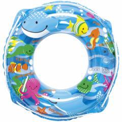【メール便送料無料】 うきわ 浮輪 子供 こども 男の子 女の子 浮き輪 魚 さかな サカナ うみのなかま ウキワ 50cm RGR-650 (ig-0145m)