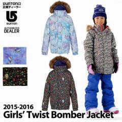 af9ae2bf7bd 15-16 BURTON バートン 子供 キッズ スノー ウエアー Girls Twist Bomber Jacket  7-