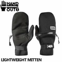 18-19 Hand Out ハンドアウト メンズ スノーボード グローブ LIGHTWEIGHT MITTEN ライトウエイトミトン メール便不可