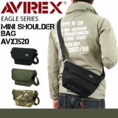【ポイント10倍+レビュー記入で5倍】AVIREX(アヴィレックス) EAGLE(イーグル) ショルダーバッグ 斜め掛けバッグ A5 AVX3520 メンズ レデ