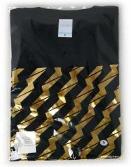でんぱ組.inc/ビリビリ Tシャツ【黒×金】(M)◆新品Ss【即納】