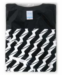 でんぱ組×Village Vanguard/ビリビリTシャツ【黒】(S)◆新品Ss【即納】