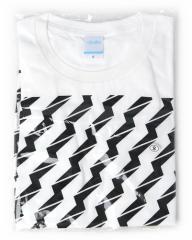 でんぱ組×Village Vanguard/ビリビリTシャツ【白】(S)◆新品Ss【即納】