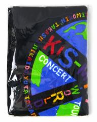 Kis-My-Ft2 2015 Tour KIS-MY-WORLD/スポーツタオル 黒◆新品Ss【即納】