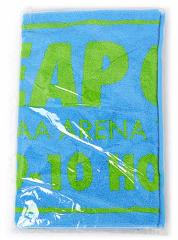 AAA LEAP OVER/会場限定フェイスタオル 北海道/水色◆新品Ss【即納】