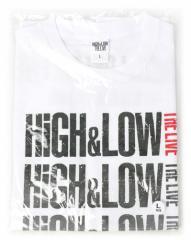 HiGH&LOW グラデーションツアーTシャツ ホワイト(L)◆新品Ss【即納】