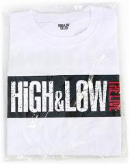 HiGH&LOW THE LIVE/THE RAMPAGE ビッグTシャツ◆新品Ss【即納】