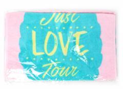 西野カナ Just LOVE Tour フェイスタオル ピンク◆新品Ss【即納】