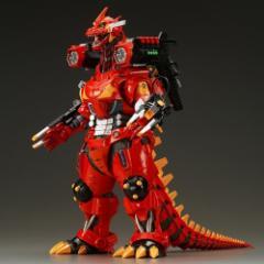 東宝30cm 3式機龍(2003版)重武装型 エヴァ2号機カラー◆新品Ss【即納】