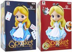 Q posket Disney Characters -Alice- アリス全2種セット◆新品Sa【即納】【送料無料】