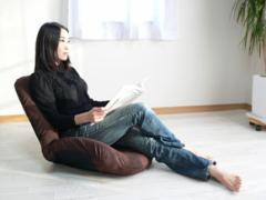 日本製 ヒップアップ美尻フィットチェア『シルフィー』(座イス 座椅子 座いす フロアチェア フィットチェア リクライニングチェア)