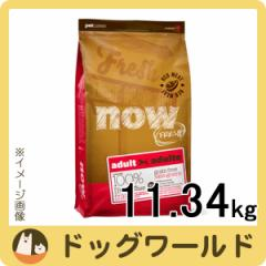 NOW FRESH グレインフリー レッドミートアダルト 11.34kg 【ドッグフード】
