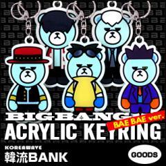 【送料無料】【代引不可】 BIGBANG (ビッグバン) BAE BAE Ver. アクリル キーリング / キーホルダー グッズ