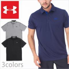 アンダーアーマー メンズポロシャツ/UNDER ARMOUR TECH POLO SHIRTS/アンダー アーマー メンズ ポロシャツ 半袖