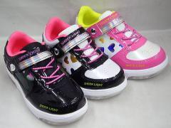 (B倉庫)SHOCK LIGHT 4566 光る靴 子供靴 スニー...