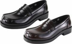 (B倉庫)HARUTA ハルタ 4900 レディース ローファー シューズ おでこローファー コインローファー 通学 学生 靴 3E 日本製 送料無料