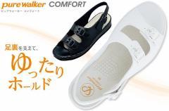 (B倉庫)Pure Walker ピュアウォーカー 7611 ナースサンダル オフィスサンダル レディースサンダル Daimatu PW7611