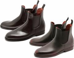(A倉庫)BCR BC-108 メンズレインシューズ プレーントゥ サイドゴア レインブーツ メンズレインブーツ  紳士長靴 【送料無料】