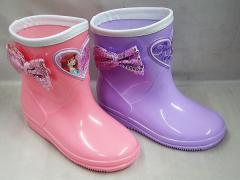 (A倉庫)DISNEY ディズニー プリンセス アリエル 7326 ちいさなプリンセス ソフィア 7328 子供長靴 キッズ レインブーツ 女の子