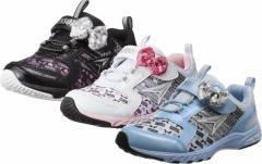 (A倉庫)瞬足レモンパイ C-368 LEC 3680 Hi-STANDARD ハイスタンダード 子供靴 スニーカー 女の子 リボン キッズ シューズ 靴