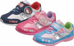 (A倉庫)アサヒ サンリオ P063 S/R P063 キャラクターシューズ 子供靴 スニーカー ハローキティ マイメロディ ボンボンリボン