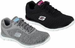 (B倉庫)SKECHERS スケッチャーズ 12062 Flex Appeal - Eye Catcher レディーススニーカー カジュアル ウォーキング シューズ 靴