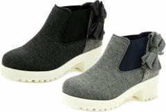 (B倉庫)SOMETHING EDWIN SOM 3057 子供靴 スニーカー ガールズ ハイカットシューズ SOM-3057 ジュニア 女の子 靴 カジュアル 送料無料