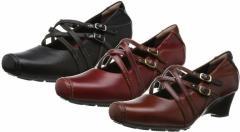(A倉庫)SPORTH スポルス SP0131 ムーンスター レディース コンフォート シューズ 靴 パンプス 通勤 普段履き 天然皮革