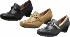 (A倉庫)SPORTH スポルス SP0133 ムーンスター レディース コンフォート シューズ 靴 パンプス 通勤 普段履き 天然皮革