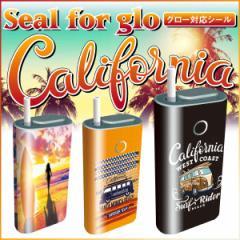 グロー シール glo グローシール 専用スキンシール グロー ケース シール gloシール 電子タバコ スキンシール カリフォルニア gl-007