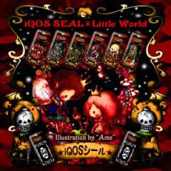 iQOS アイコス シール ケース カバー タバコ 電子タバコ ステッカー アイコスシール iQOSシール 作家 Little World タロット iqos-030