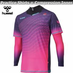 hummel ヒュンメル コンプレッション インナー プラシャツ + インナー セット HAP7095 27 ファンダンゴ