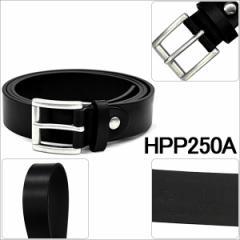 ダンヒル DUNHILL メンズ レザー カジュアル ベルトつや無ブラック HPP250A