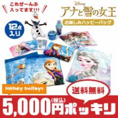【送料無料】 ☆ 5000円 ポッキリ !!! ディズニー アナと雪の女王 <12点セット> 弁当箱/バッグ/キッズ/子供 福袋