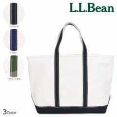 LLBEAN エルエルビーン トートバッグ L レディース メンズ BOAT AND TOTE OPEN-TOP ブラック ブルー カモ 112637