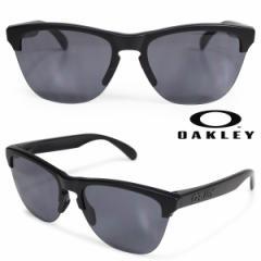 オークリー Oakley サングラス Frogskins lite フロッグスキン ライト US FIT メンズ レディース ブラック OO9374-01