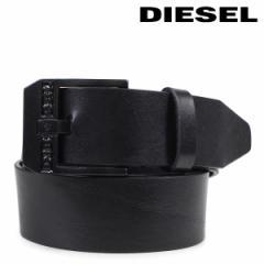 ディーゼル ベルト DIESEL メンズ レザーベルト 牛革 ロゴ入り カジュアル BLUESTAR ブラック X03728 PR227 H5902 3/23 新入荷