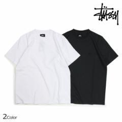 ステューシー STUSSY Tシャツ メンズ 半袖 CLASSIC SS JERSEY TEE ブラック ホワイト 1140069 4/11 新入荷